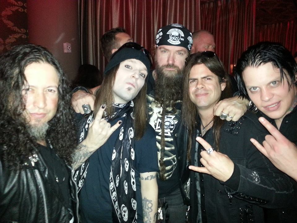Alexi Laiho ( Children of Bodom) and Zakk Wylde