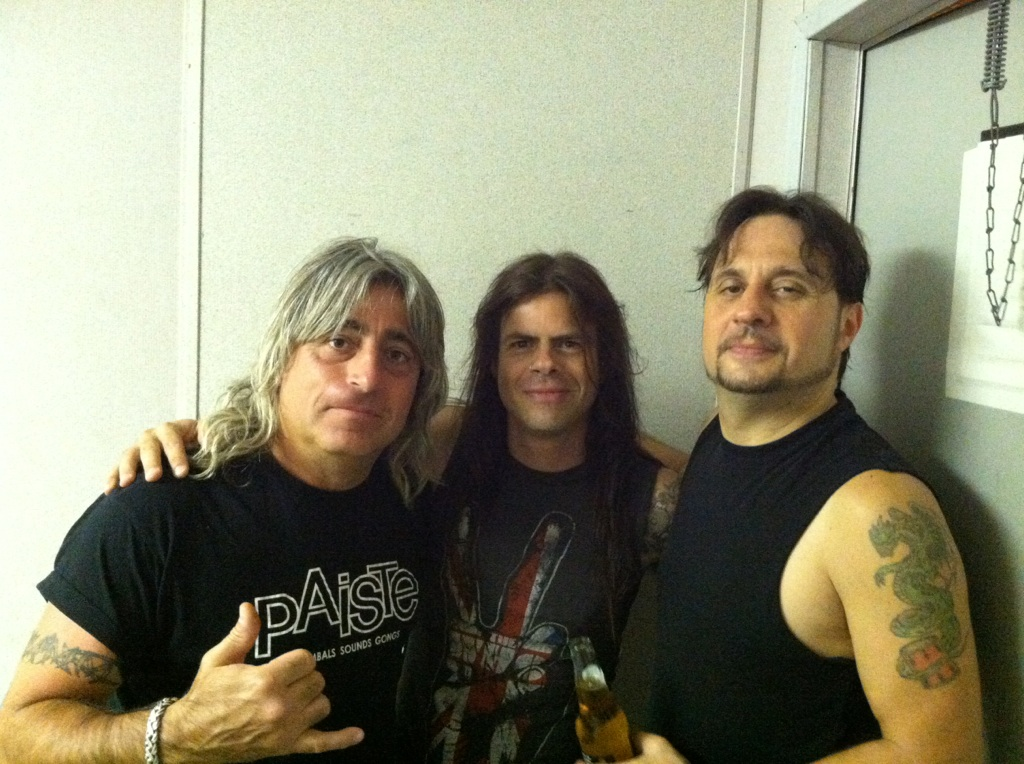 Mickey Dee(Motorhead) and Dave Lombardo(Slayer)